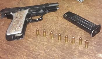 BM prende homem por porte ilegal de arma de fogo e receptação em Santa Vitória do Palmar