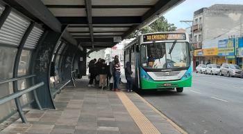 Sistema de transporte coletivo opera com menor lotação no fim de semana em Rio Grande