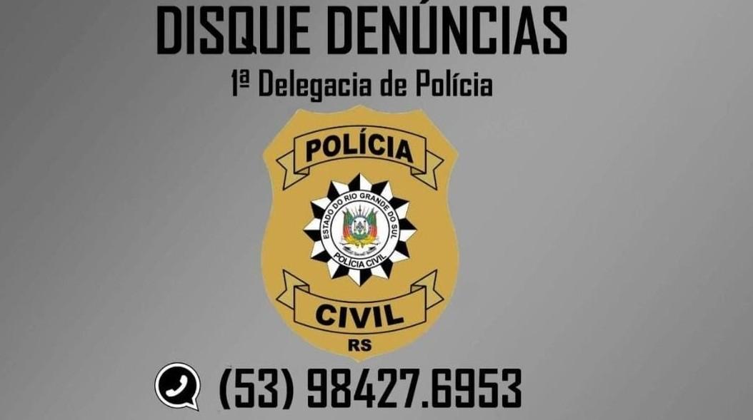 Polícia Civil de Rio Grande divulga serviço de Disque Denúncias