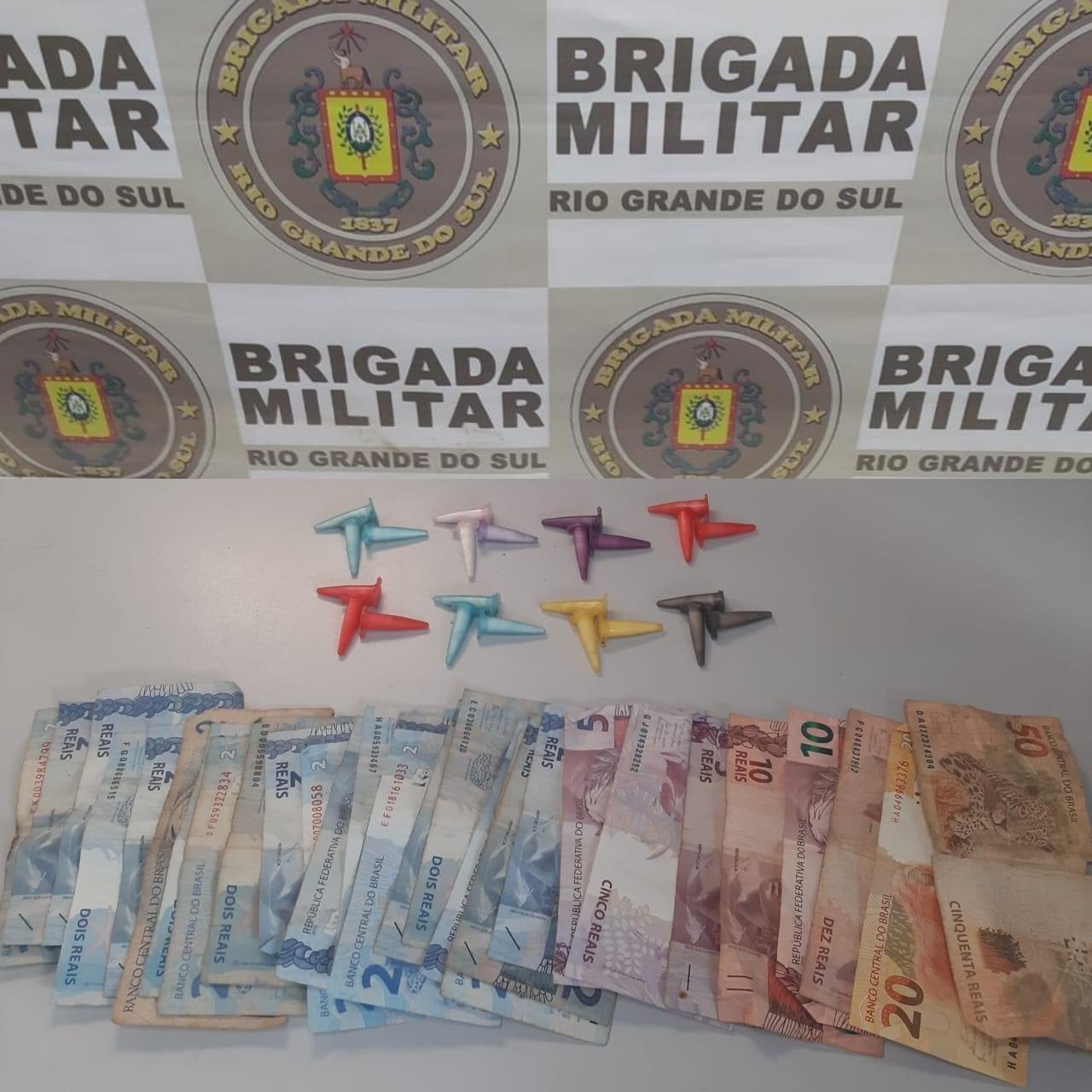 Dois homens são presos por tráfico de drogas no sábado (17) em Rio Grande
