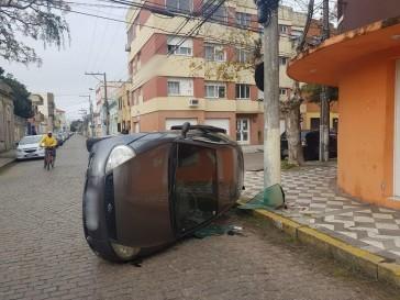 Rio Grande registrou quatro acidentes de trânsito no intervalo de 1 hora nesta terça-feira (22)