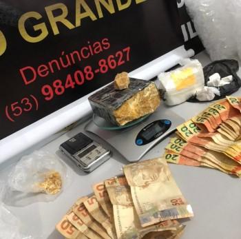 Polícia Civil prende homem por tráfico de drogas no bairro Castelo Branco