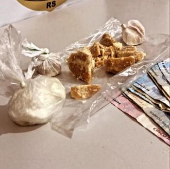 PC prende homem por tráfico de drogas no BGV