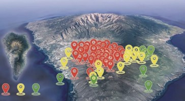 Vulcão capaz de provocar tsunami que atingiria o Rio Grande do Sul entra em alerta de erupção