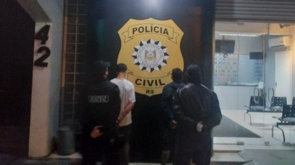 Guarda Municipal prende dois homens por furto de fios elétricos