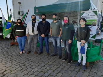 Ação de apoio garante exames e testes de saúde nos caminhoneiros em Rio Grande
